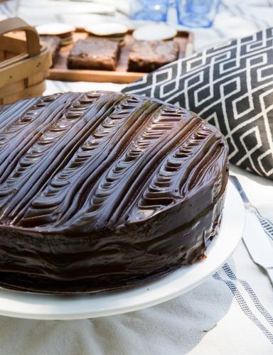 Torta Bizcochuelo De Chocolate