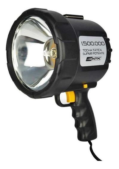 Lanterna Farol Silibim Refletor Tocha Ntk 12v Super Potente