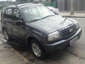 Chevrolet Tracker 2.0 4x4 Manual Cinza 2008 Teto Solar