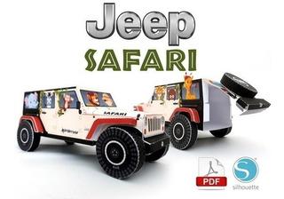 Arquivo De Corte Jeep Safari 3d (.studio3 E Pdf)