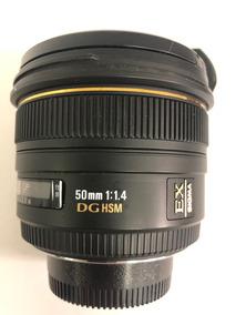 Lente Sigma 50mm 1.4 Nikon