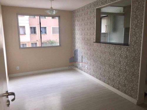 Apartamento Com 2 Dormitórios À Venda, 44 M² Por R$ 190.000,00 - Parque São Vicente - Mauá/sp - Ap0700