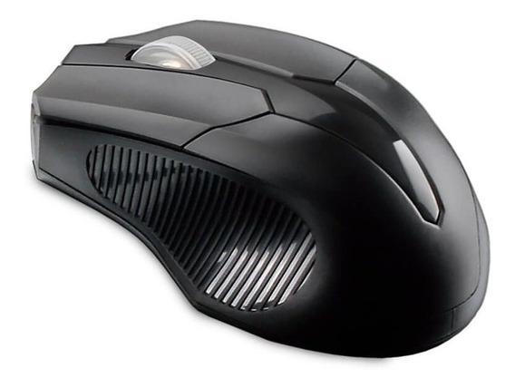 Mouse Sem Fio 2.4 Ghz Usb Box Bulk Multilaser Preto - Mo265