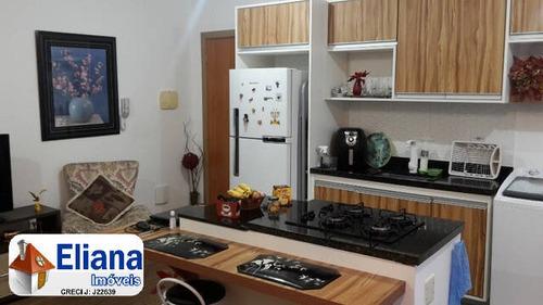 Apto Mobiliado- Bairro Nova Gerty- 1 Dormitório - Ga8559
