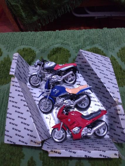 Motos Bmw Pack Por 3 Escala 1/12
