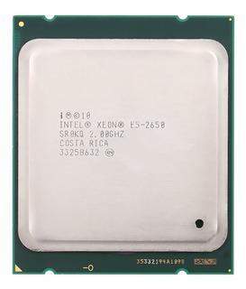Procesador Intel® Xeon® E5-2650 20m Cache 2.00 Ghz 8.00 Gt /