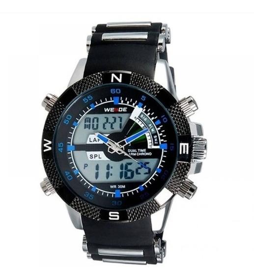 Relógio Masculino Esporte Original Anadigi Weidi Wh-1104