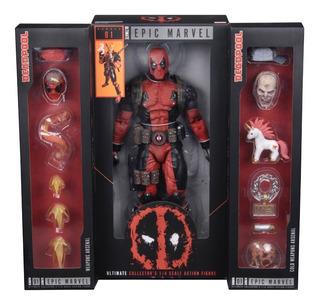 Deadpool Ultimate 1/4 Neca Marvel Figras Super Heroes