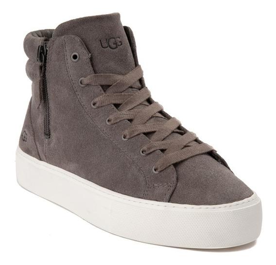Zapatos Casuales Ugg Mod. 1100738 Color. Gris Para Mujer / H