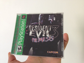 Resident Evil 3 Greatest Hits Ps1 Compatible Con Ps2