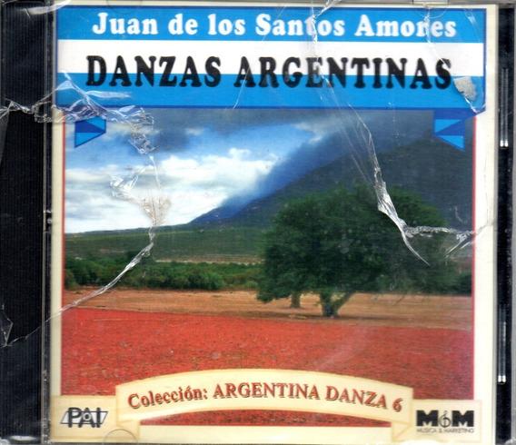 Juan De Los Santos Amores Danzas Argentinas Volumen 6