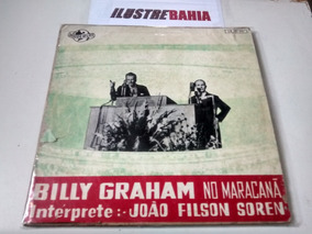 Lp Vinil Billy Graham No Maracanã Interpr. João Filson Soren