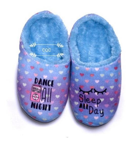Pantuflas Niñas Nenas Sweet Dreams Importadas 24/34corderito