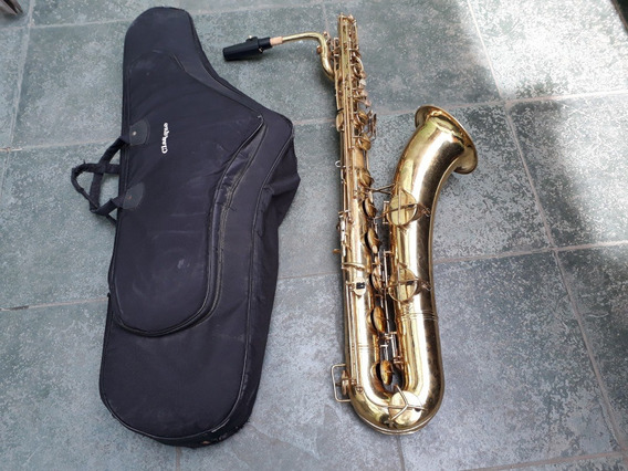 Sax Baritono Conn Anos 70 Orig Saxofone De Luthier Troco+$