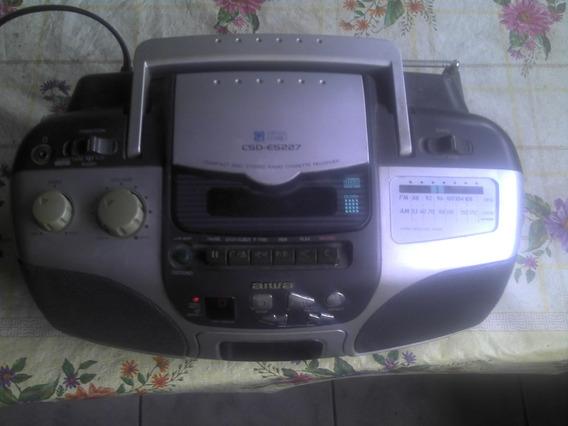Csd Es227 Compact Disc Stereo Cassette Rec Boombox Am/fm.