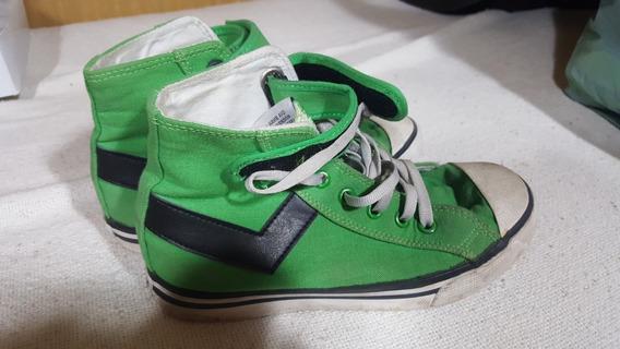 Zapatillas Pony - Verde