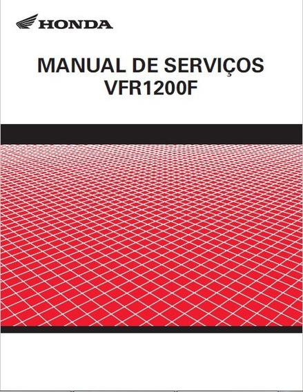 Manual De Serviços Honda Vfr 1200f Pdf 2011 - 2012