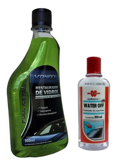 Water Off Wurth + Removedor De Chuva Acída Vonixx