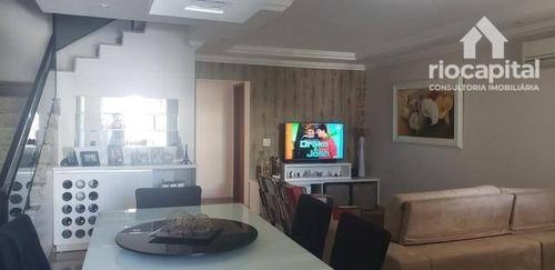 Casa Com 4 Quartos À Venda, 285 M² Por R$ 1.650.000 - Recreio Dos Bandeirantes - Rio De Janeiro/rj - Ca0187