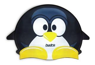 Gorra Silicona Jr Pez Rosa Y Pinguino Con Estuche