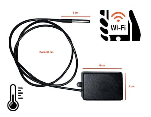 Termômetro Internet - Monitoramento Remoto - Inovador