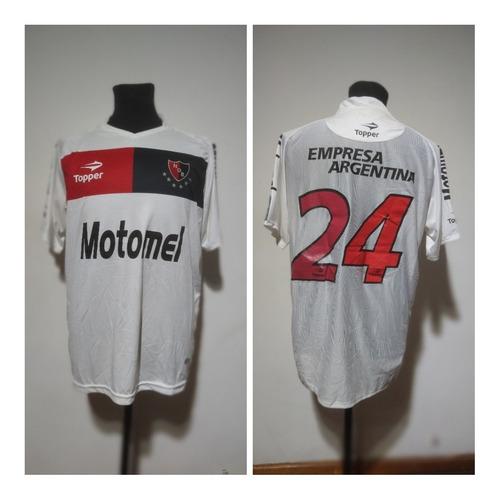 Camiseta Newells Old Boys Suplente 2010/11 Favarelli