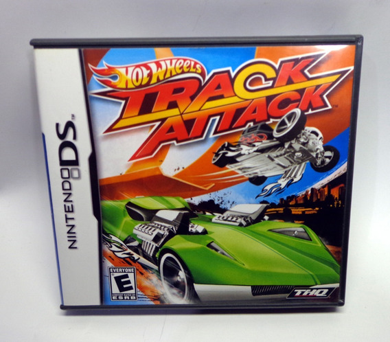 Hot Whells Track Attack Nintendo Ds Completo