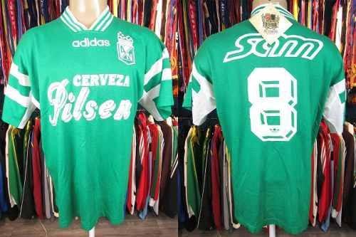 Nacional De Medellín 1995 Camisa Titular Tamanho M Número 8.