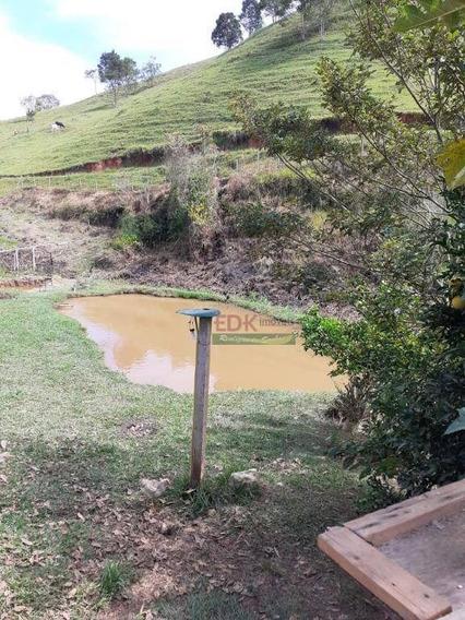 Chácara Com 2 Dormitórios À Venda, 4000 M² Por R$ 350.000 - Chácaras Cataguá - Taubaté/sp - Ch0203