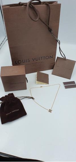 Collar Louis Vuitton Oro Lv Tous Tiffany Louis Vuitton T&co