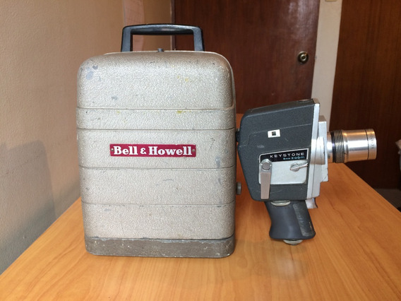 Cámara Cine Keystone K-808 Y Proyector 8mm Bell & Howell