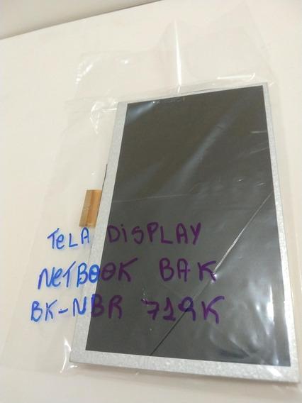 Tela Display Netbook Bak Bk-nbr 719 K Original