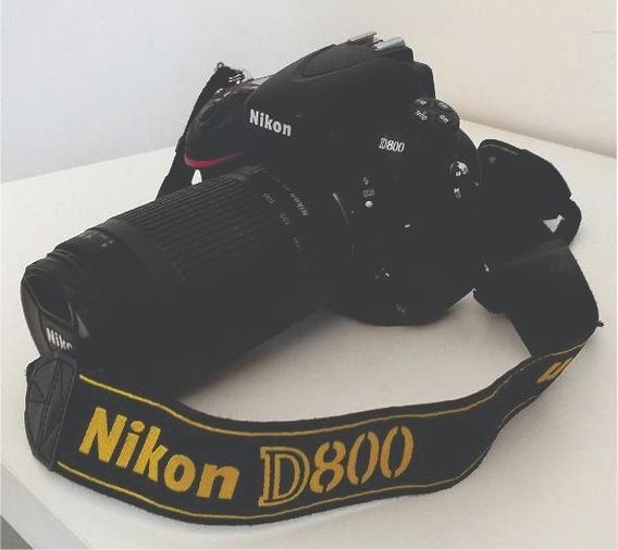 Câmera Profissional Dslr Nikon D800