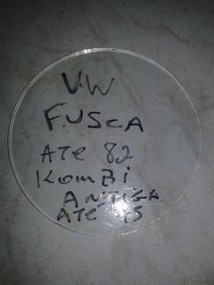 Vidro Moldura Velocímetro Fusca Antigo Até 81/kombi Até 75
