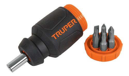 10751 Desarmador Destornillador Truper Trompo 7 Puntas