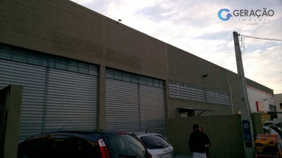 Galpão Comercial Para Locação, Residencial Armando Moreira Righi, São José Dos Campos - Ga0132. - Ga0132