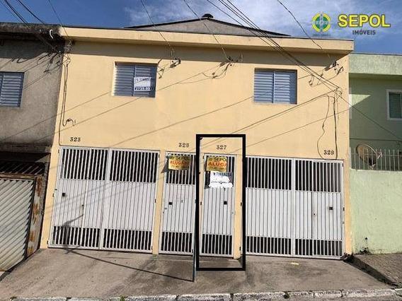 Casa Com 1 Dormitório Para Alugar, 50 M² Por R$ 649,00/mês - Jardim Egle - São Paulo/sp - Ca0123