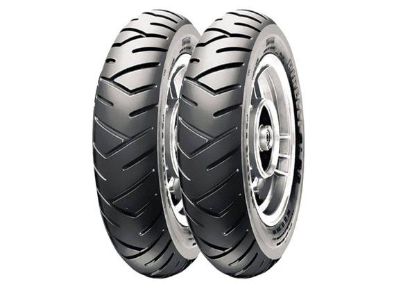 Par De Pneus Pirelli 130/60-13 Sl26 Para Dafra Lazer
