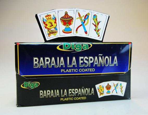 Cartas Baraja La Española Original 40 Cartas Plástico Nuevo
