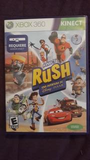 Juego Rush Una Aventura Dedisney Pixar Para Xbox360 Original