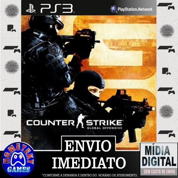 Counter Strike Global Offensive - Psn Ps3 Play 3