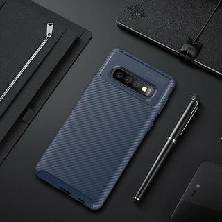 Case Cover Luxo Samsung Galaxy S10 Plus Anti-choque Azul