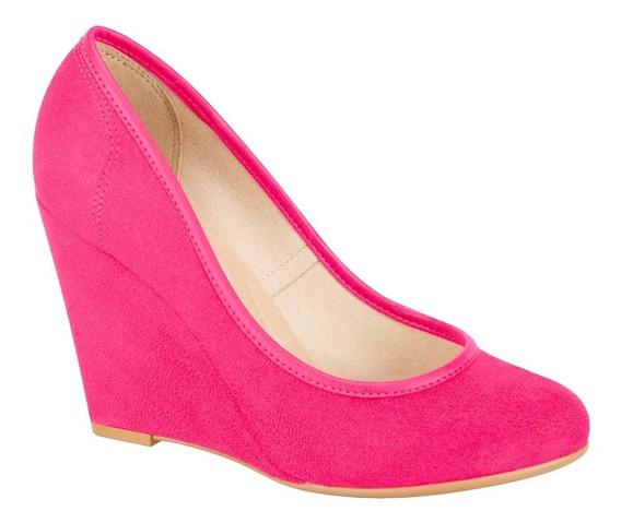 Sapato Anabela Pink Feminino Beira Rio 4774 430