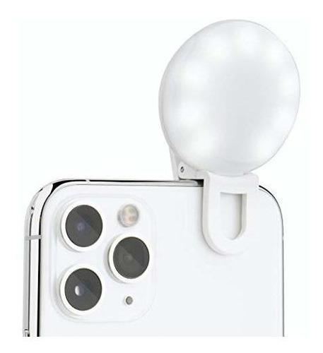 Imagen 1 de 6 de Selfie Mini  Luz De Anillo Para Selfie Pequeño Para Telefon