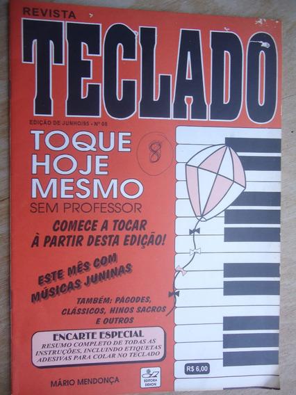 Revista Teclado Junho/95 - 08 - Apenas A Revista, Sem Encart