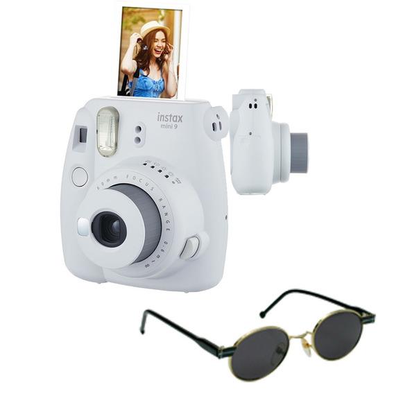 Câmera Instantânea Fujifilm Instax Mini9 Gelo + Óculos