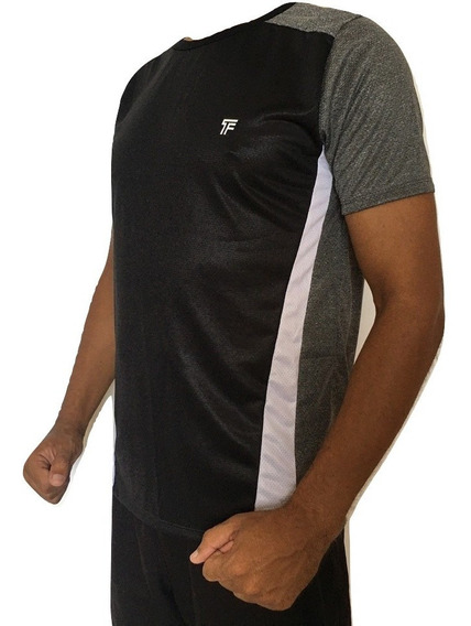 Camisa Dry Fit Kit Com 5 Academia Treino Corrida Furadinha