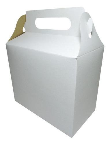 Cajita Feliz Cfz3 X 10u Packaging Blanco Madera