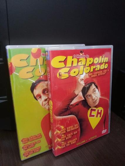 Dvd O Melhor Do Chapolin Colorado Coleção (8 Dvds)