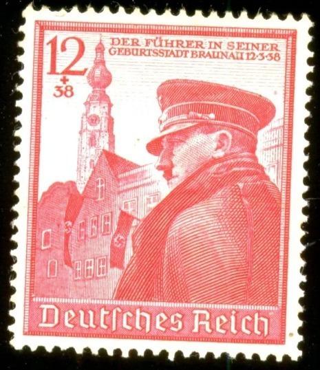 Alemanha Reich 1939 Hitler Aniversário 50 Anos Veja + Selos